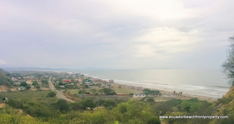 View overlooking the northern end of San Clemente